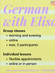 Vorschaubild German courses