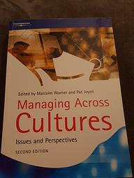 Vorschaubild Managing across cultures
