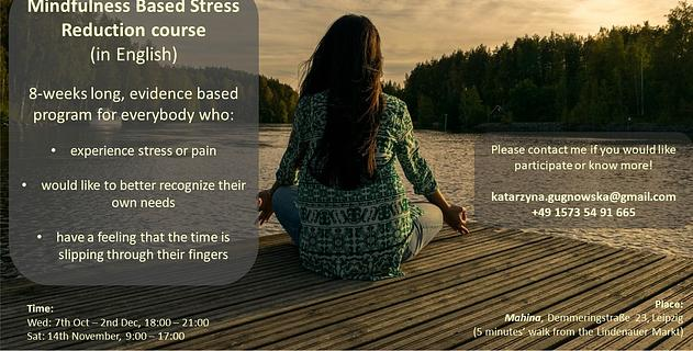 Vorschaubild Mindfulness Based Stress Reduction Course (in English)